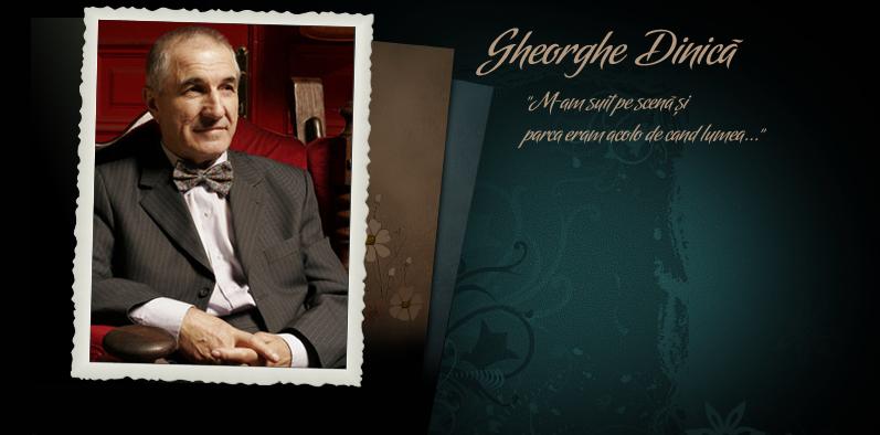Biografie Gheorghe Dinica