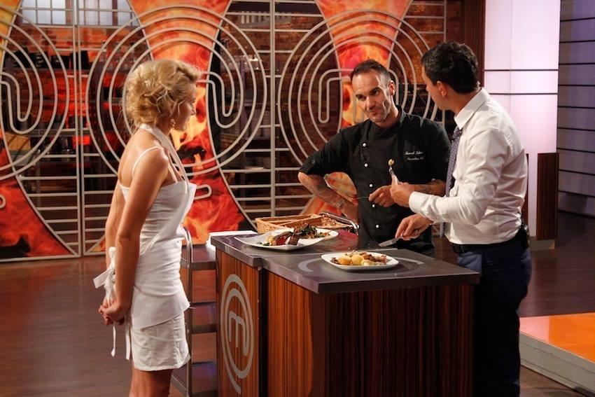 Laura Cosoi va castiga Master Chef